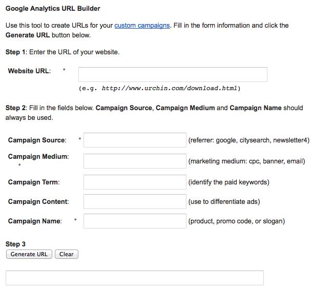 Google URL Builder Image