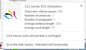 Word Count Extension