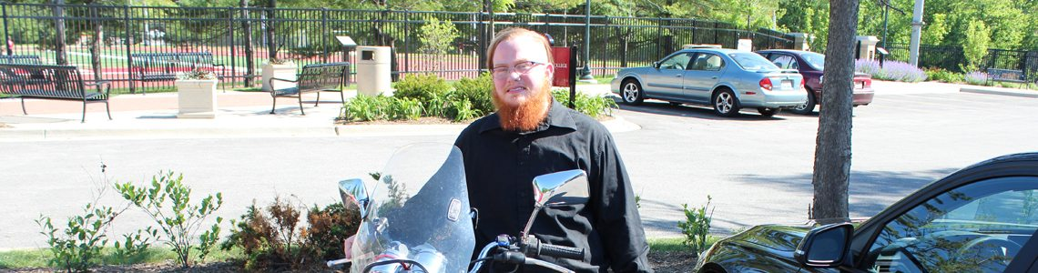 Charlie Ford: long-haul biker