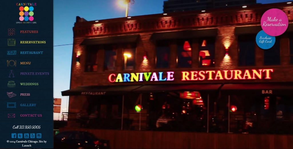 Carnivale Restaurant in Chicago